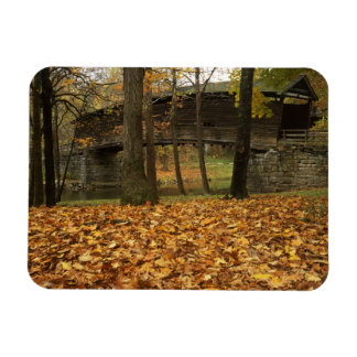 USA, Virginia, Covington, Humpback Covered Rectangular Photo Magnet