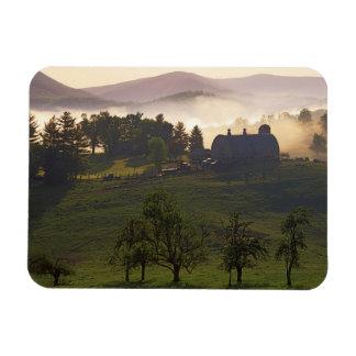USA, Virginia, Giles County, Farm Rectangular Photo Magnet