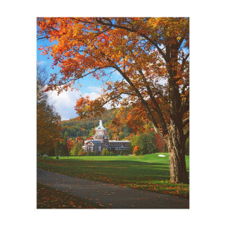 USA, Virginia, Hot Springs, The Homestead Gallery Wrapped Canvas