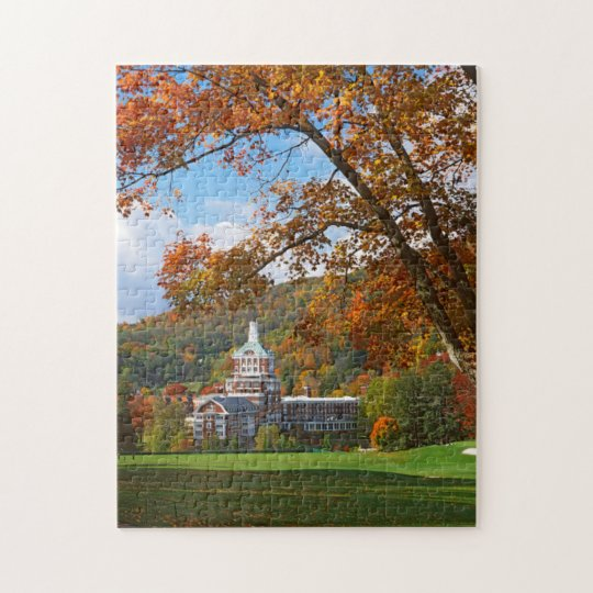 USA, Virginia, Hot Springs, The Homestead Jigsaw Puzzle