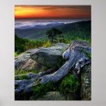 USA, Virginia, Shenandoah National Park. Print