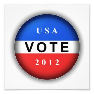 USA Vote 2012 Art Photo