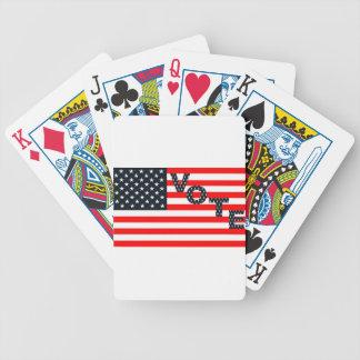 Usa Vote Poker Deck