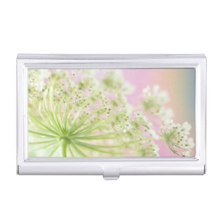 USA, Washington, Close-up of cow parsnip Business Card Cases