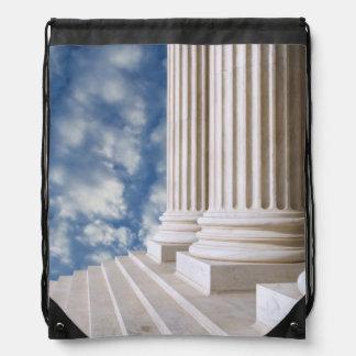 USA, Washington, D.C. Close-Up Of Columns Backpack