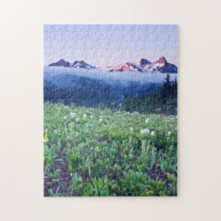 USA, Washington, Mt. Rainier National Park 4 Jigsaw Puzzle