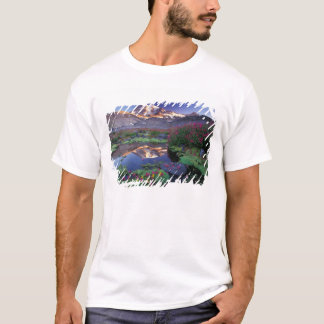 USA, Washington, Mt. Rainier NP, sunrise, T-Shirt