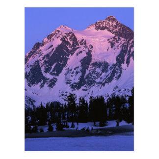 USA, Washington, Mt. Shuskan in North Cascades Postcard