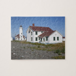 USA, Washington, Port Townsend, Point Wilson Jigsaw Puzzle