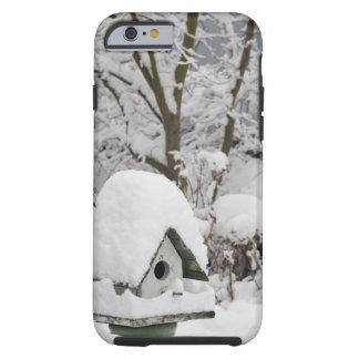USA, Washington, Seabeck. Close-up of bird house Tough iPhone 6 Case