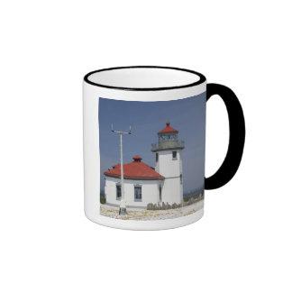 USA, Washington, Seattle, Alki Point Lighthouse, 2 Ringer Mug