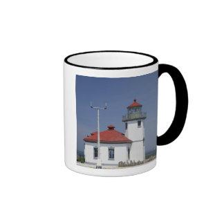 USA, Washington, Seattle, Alki Point Lighthouse, Ringer Mug