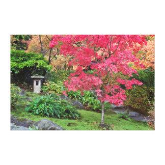 USA, Washington, Seattle, Arboretum Japanese Stretched Canvas Print