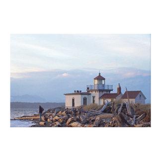 USA, Washington, Seattle, Puget Sound 2 Gallery Wrap Canvas