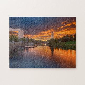 USA, Washington, Spokane, Riverfront Park Jigsaw Puzzle