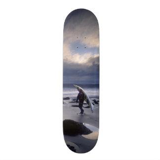 USA, Washington State, Olympic National Park. Custom Skateboard