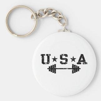 USA Weightlifting Keychains