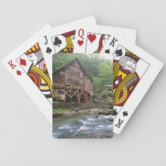 USA, West Virginia, Babcock SP. Rustic Glade Playing Cards