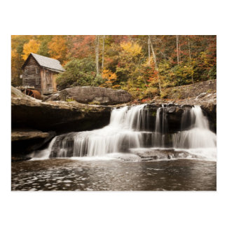 USA, West Virginia, Clifftop. Babcock State Postcard