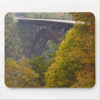 USA, West Virginia, Fayetteville. New River Mouse Pad