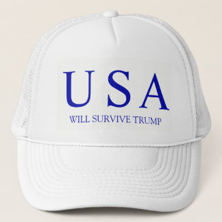USA Will Survive Trucker Hat