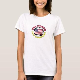 USA Women 2012 Soccer Champions T-Shirt