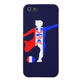 USA Women's Soccer Logo Covers For iPhone 5