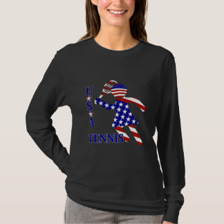 USA Women's Tennis T-Shirt
