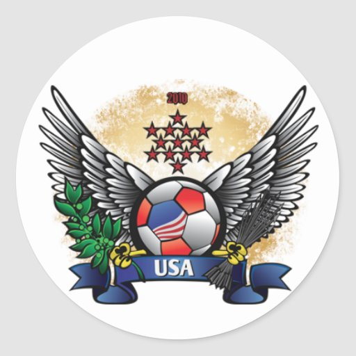 USA World Cup Soccer Sticker