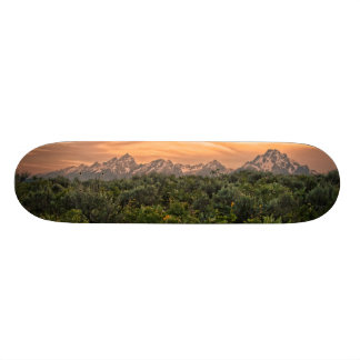 USA, Wyoming, Grand Teton National Park 1 18.1 Cm Old School Skateboard Deck