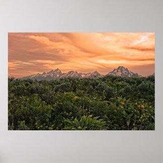 USA, Wyoming, Grand Teton National Park 1 Poster