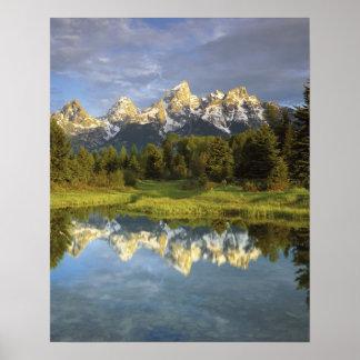 USA, Wyoming, Grand Teton National Park. Grand 2 Print