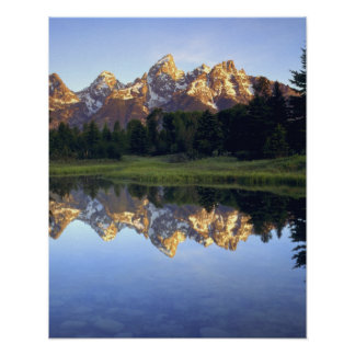 USA, Wyoming, Grand Teton National Park. Grand Print