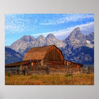 USA, Wyoming, Grand Teton National Park. Poster