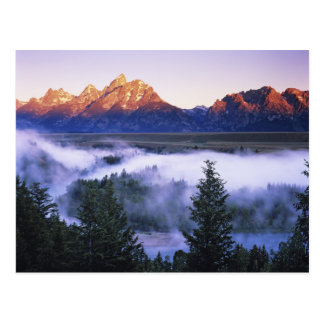 USA, Wyoming, Grand Teton National Park. The Postcard