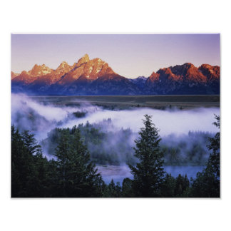 USA, Wyoming, Grand Teton National Park. The Poster