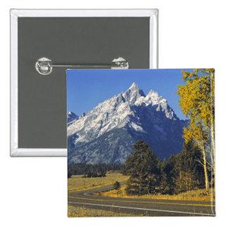 USA Wyoming Grand Teton NP Teton Parkway Pinback Button
