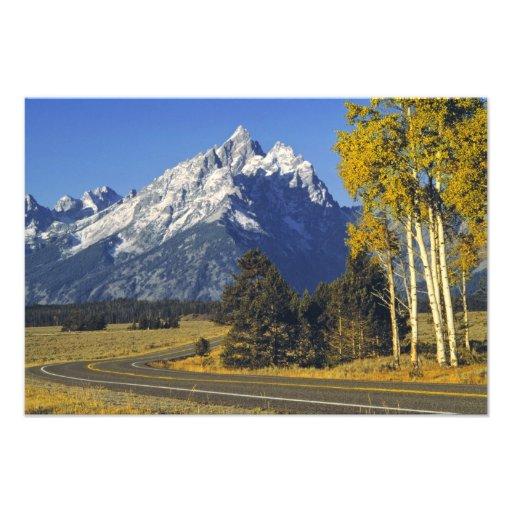 USA, Wyoming, Grand Teton NP. Teton Parkway Art Photo