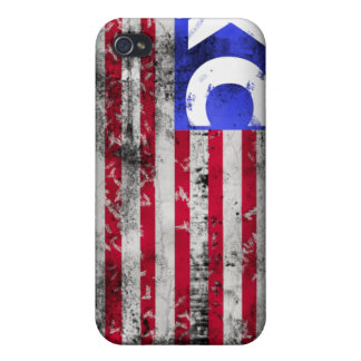 USA XC Cross Country Cover For iPhone 4