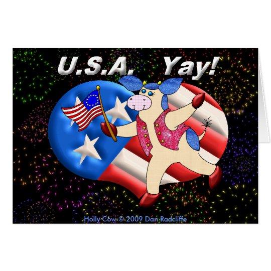 USA Yay! Card