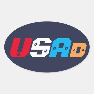 USAd (screwed) sticker