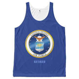 USAF All-Over Printed Unisex Tank