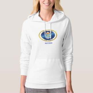 USAF Retired American Apparel California Fleece Hoodie