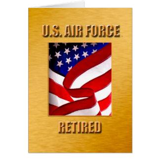 USAF Retired Card