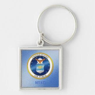 USAF Retired Key Chain