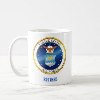 USAF Retired Large Mug