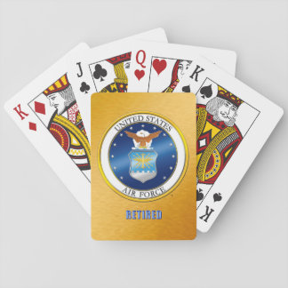 USAF Retired Playing Cards