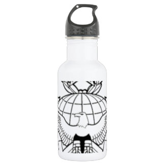 USAF Security Forces Function Badge Command LVL.. 18oz Water Bottle