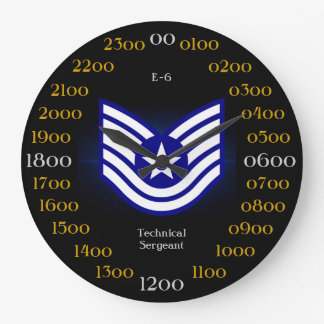 USAF / Technical Sergeant E-6 Clocks
