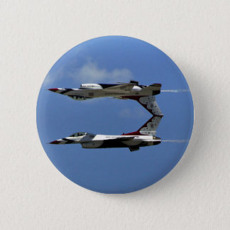 USAF Thunderbirds 6 Cm Round Badge